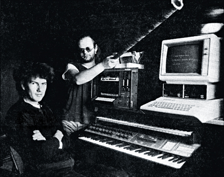 Jørn Christensen and Ola Snortheim in Sigma Studio.